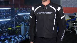 sport motorcycle jacket agv sport misano vented leather motorcycle jacket review youtube