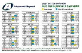 advanced disposal corporate office refuse recycle west easton borough