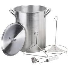 stock pot with drain webstaurantstore
