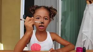 amirah u0027s deer makeup for kids youtube