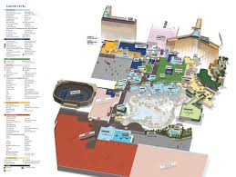 Las Vegas Hotel Map Showtimevegas Com Las Vegas Facility Site Maps
