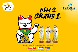 Teh Yuzu yuzu indonesia nikmati promo khusus yuzu tea di bulan mei
