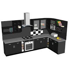 model kitchen kitchenc02 3d model formfonts 3d models textures
