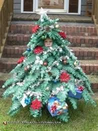 christmas tree costume coolest mini christmas tree costume
