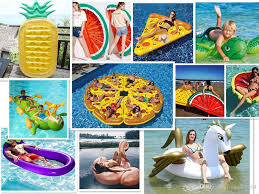 Inflatable Pool Floats by 2017 In Stock Pool Float Giant Inflatable Flamingo Unicorn Pegasus