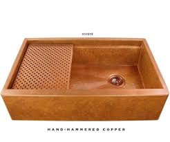 undermount copper kitchen sinks usa handcrafted havens metal