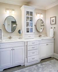 Bathroom Furniture White Small White Bathroom Cabinet Linen Closet Storage Tower Furniture