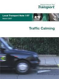 ihie home zone design guidelines ltn 1 07 speed limit traffic