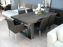 Real Wood Dining Room Furniture Contemporary Dining Tables Images Table Design Amish
