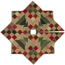 Quilted Christmas Tree Skirts To Make - wonky quilt free pattern free quilt pattern white house