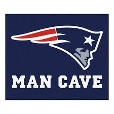 Nfl Area Rugs Fanmats New Patriots Blue Cave 5 Ft X 6 Ft Area Rug