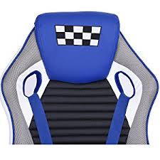 Blue Leather Chair Amazon Com Gaming Chair Computer Desk Chair Coavas Racing Chair