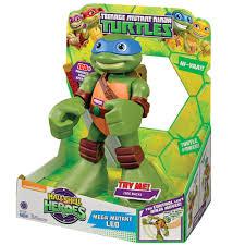teenage mutant ninja turtles teenage mutant ninja turtles mega mutant leo 30 00 hamleys