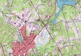 Pierce College Map Nutfield Genealogy Maps Poetry And Other Musings On West Running