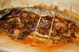 cuisiner une dorade dorade farcie aux crevettes et au vermicelle chinois dans ma