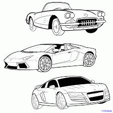 cartoon car drawing how to draw a sports car step by step cars draw cars online