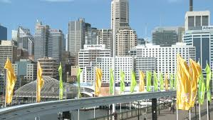 monorail darling harbour sydney wallpapers sydney australia mar 22 2009 sydney australia skyline with