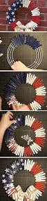 The Home Decor 425 Best 4th Of July Images On Pinterest Patriotic Wreath