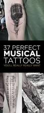 37 perfect musical tattoos you u0027ll really really want tattooblend