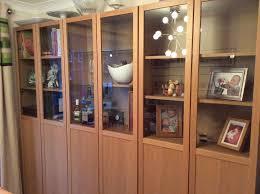 ikea billy bookcase glass doors ikea billy bookcase oak roselawnlutheran
