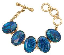 blue bracelet images Charles albert alchemia blue abalone shell bracelet jpg