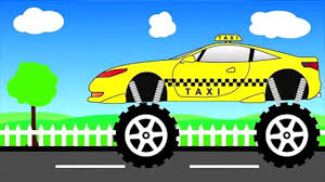 monster trucks games videos taxi truck monster trucks for children video dailymotion