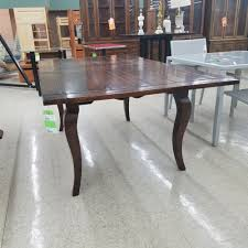 table country style dark finish