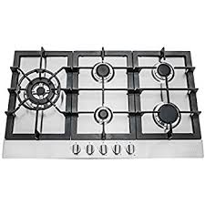 Euro Cooktops Amazon Com Windmax Euro Style 30 In Stainless Steel 5 Burner