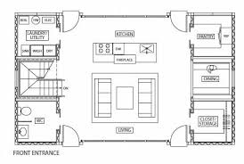 shipping container home floor plans one bedroom house free