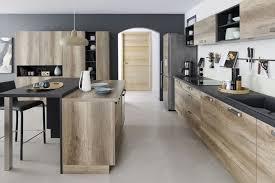 cuisine bois inox cuisine bois noir inox meilleur idées de conception de maison