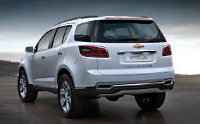 chevrolet trailblazer 2016 first all new 2013 chevrolet trailblazer suv built in thailand