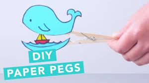 diy clothes peg surprise for kids nailed it youtube