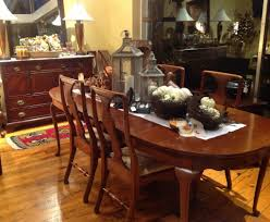 double pedestal table set of ten queen anne style mahogany dining queen anne table hunt chest behind it