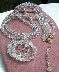 jewelry crystal necklace images Vintage costume jewelry identification and value guide jpg
