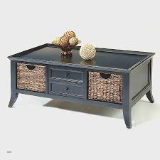 coffee table with baskets under cheap wooden coffee table design with storage drawers in natural