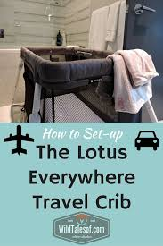 Hawaii travel cribs images How to set up guava family 39 s lotus everywhere travel crib jpg