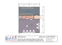 customizable floor plans ramtech education and classroom floor plans