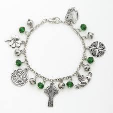charm bracelet symbols of ireland charm bracelet the catholic company