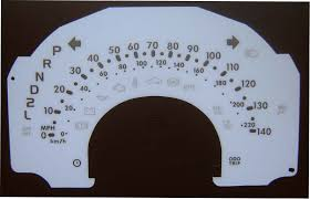 daihatsu sirion kmh to mph speedo meter clocks dials