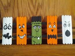 Halloween Arts And Crafts Ideas Pinterest - halloween crafts with popsicle sticks halloween craft popsicle