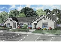winfield ranch style duplex plan 055d 0395 house plans and more