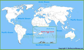 map of the bvi islands location on the world map