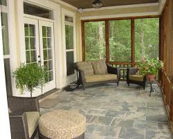 country porch with exterior tile floors u0026 screened porch zillow