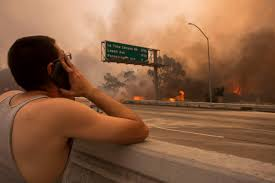 Wildfire La Area by Devastating Photos Show The Wrath Of Largest Wildfire In Los