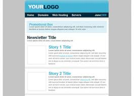 free html newsletter template 35 best responsive html email