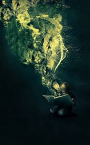 books wallpaper fantasy book reading boy android wallpaper free download
