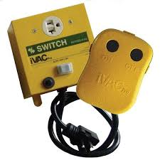 220 volt dust collector remote control switch