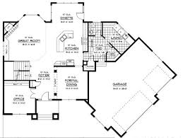 prairie style floor plans prairie style house plan with angled garage 14410rk