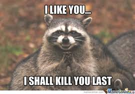 Racoon Meme - evil raccoon by thatguyxlr meme center