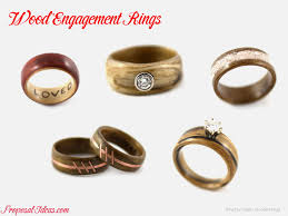 diamond wood rings images Wood ring with diamond awesome alternative engagement rings wood png